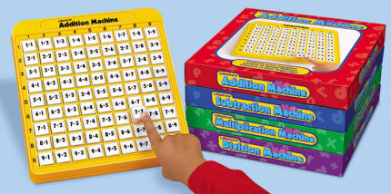Self-Teaching Math Machines