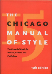 Copertina del The Chicago Manual of Style