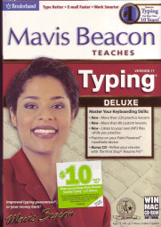 La confezione di Mavis Beacon Teaches Typing