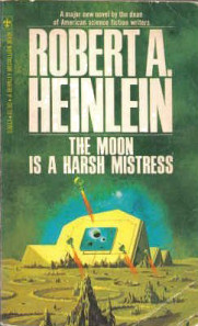 Copertina di The Moon is a Harsh Mistress