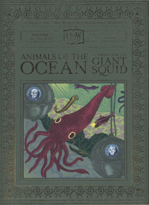 Copertina di Animals of the Ocean, in Particular the Giant Squid