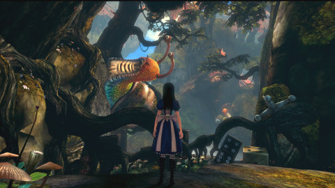 Uno screenshot da Alice: Madness Returns