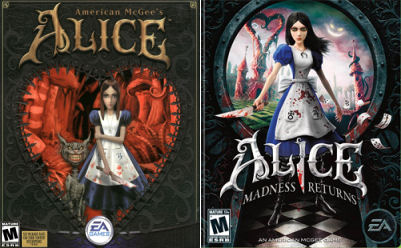 Copertine di American McGee's Alice / Alice: Madness Returns