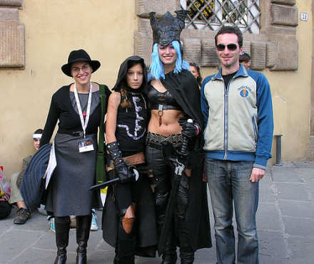 Licia Troisi & cosplayer
