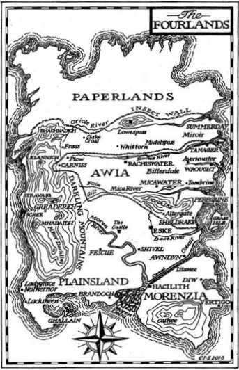 Mappa delle Fourlands